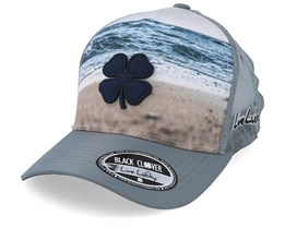Shoreline 2 Grey Trucker - Black Clover