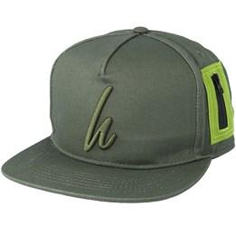 4dafac266c794 Hype Ma1 Green Snapback - Hype £24.99