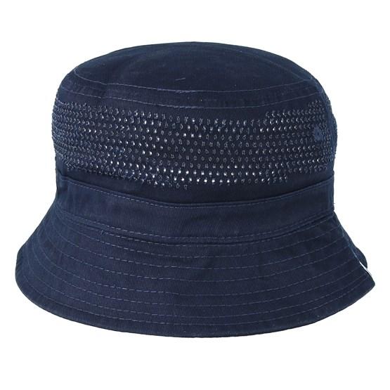 Hatt Laser Polka Navy Bucket - Hype - Blå Bucket