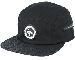 Pocket Reflective Black 5 Panel - Hype