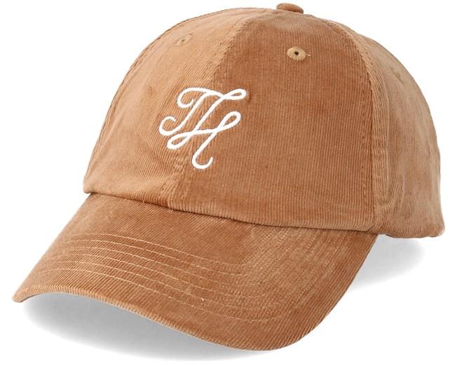 ed310c1ca59 Corduroy Dad Hat Tan White Adjustable - Hype caps - Hatstoreaustralia.com