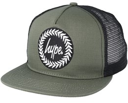 Crest Khaki/Black Trucker - Hype