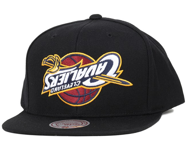 a1d9d2aca55 Cleveland Cavaliers Upside Down Logo Snapback - Mitchell   Ness caps ...