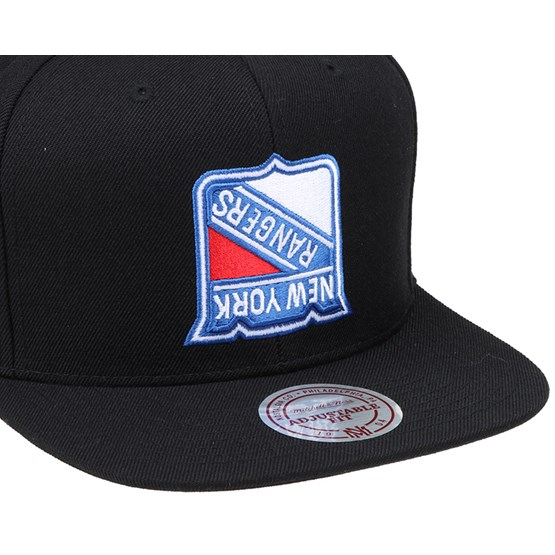 Ny Rangers Upside Down Logo Snapback Mitchell Amp Ness
