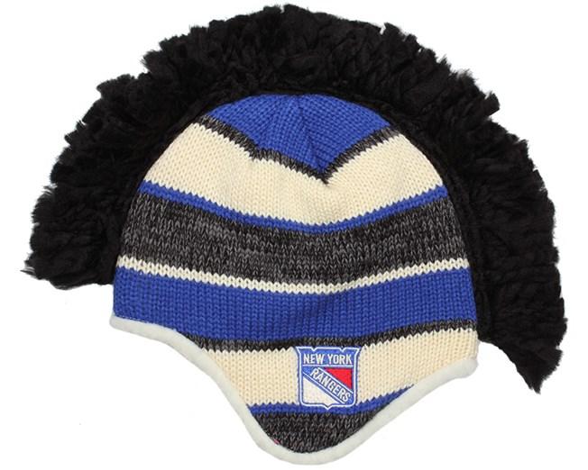 ad3d90e0 NY Rangers Faceoff Mohawk Knit - Reebok beanies - Hatstoreworld.com
