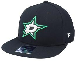 Dallas Stars Primary Logo Core Black Snapback - Fanatics