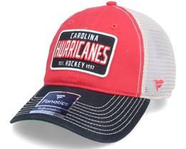 Carolina Hurricanes True Classics Unstructured Red Trucker - Fanatics
