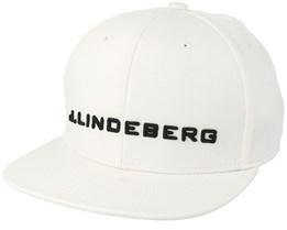 Colton Flexi Twill White Snapback - J.Lindeberg