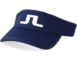 Ian Pro Poly JL Navy/White Visor - J.Lindeberg