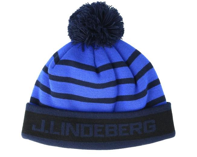2cde4ecfbce Stripe Golf Daz Blue Cuff - J.Lindeberg beanies - Hatstoreworld.com