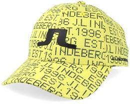 Caden Yellow/Black Adjustable - J.Lindeberg