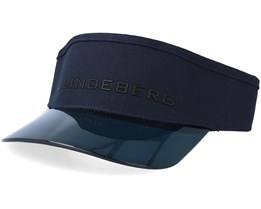 Cody Flexi Twill Navy/Black Visor - J.Lindeberg
