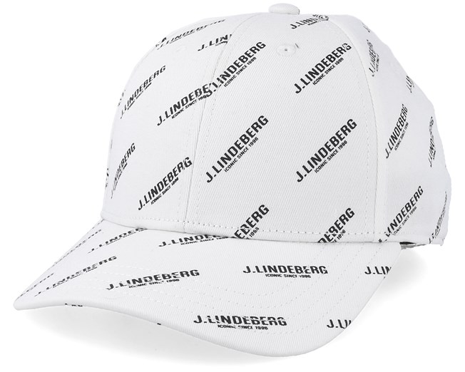 Print Flexi Twill Black White Adjustable - J.Lindeberg caps -  Hatstoreworld.com c5cc66292a44
