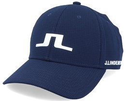 Caden Tech Mesh Navy Adjustable - J.Lindeberg