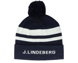 Stripe Ball JL Navy/White Pom - J.Lindeberg
