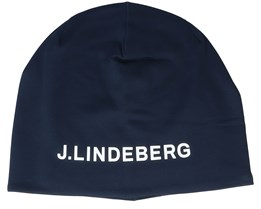 Mid JL Navy/White Beanie - J.Lindeberg