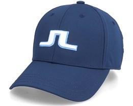 Angus Golf Cap Jl Navy Adjustable - J.Lindeberg