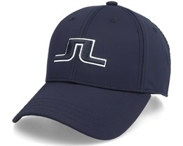 Angus Golf Cap Black Adjustable - J.Lindeberg