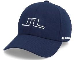 Caden Golf Cap Jl Navy Adjustable - J.Lindeberg