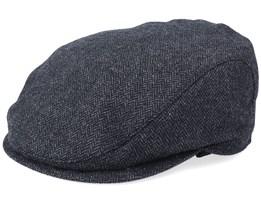 Ivy Slim Black Flat Cap - Wigéns