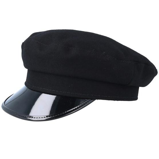 Keps Bega Sr. Wool Black Flat Cap - CTH Ericson - Svart Flat Caps