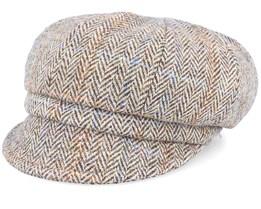 Regina Sr. Harris Tweed Camel Ear Flap - CTH Ericson