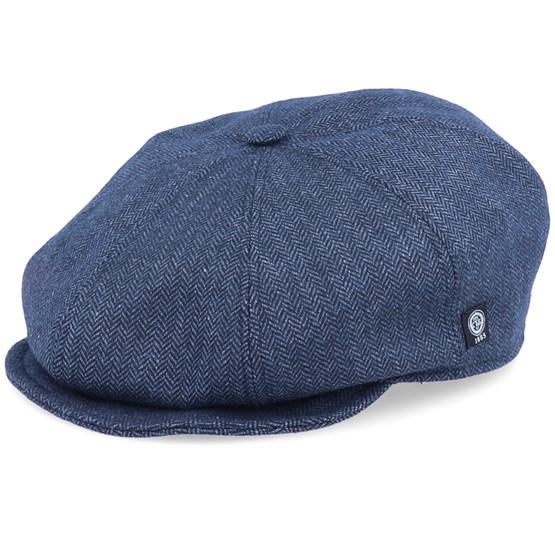 Keps Theidir Sr. Herringbone Blue Ear Flap - CTH Ericson - Blå Flat Caps