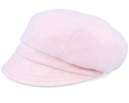 Kids Regina Jr. Herringbone Pink Flat Cap - CTH Ericson