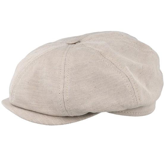 Keps Alan Sr. Slub Khaki Flat Cap - CTH Ericson - Beige Flat Caps