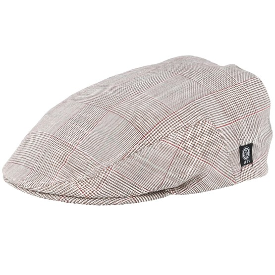 Keps Edward Sr. Estate Brown Flat Cap - CTH Ericson - Beige Flat Caps