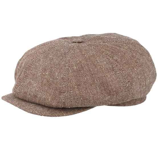 Keps Alan Sr. Belo Brown Flat Cap - CTH Ericson - Brun Flat Caps