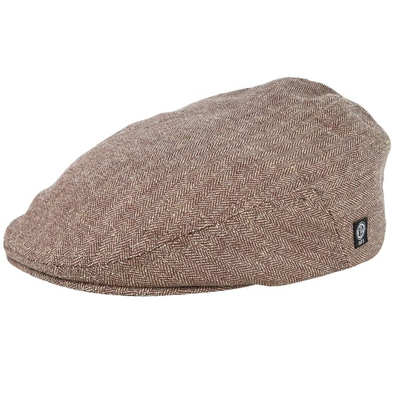 Keps Edward Sr. Belo Brown Flat Cap - CTH Ericson - Brun Flat Caps