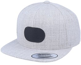 Baseball Cap Heather Grey Snapback - CTH Ericson