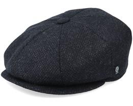 Gustav Re-source Wool Grey Flat Cap - CTH Ericson