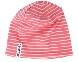 Kids Topline Soft Red/Peach Beanie - Geggamoja