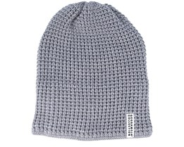 Kids Knitted Grey Beanie - Geggamoja