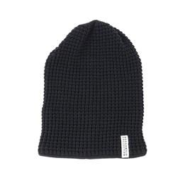 1fafe9df43224 Geggamoja Kids Knitted Black Beanie - Geggamoja £27.99