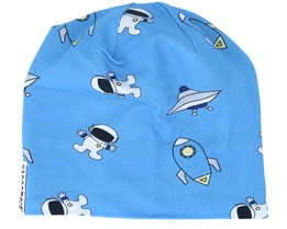 Kids Limited Fleece Austonauts Blue Beanie - Geggamoja