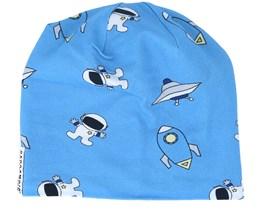 Kids Limited Fleece Austonauts Blue Beanie - Geggamoja