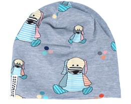 Kids Limited Fleece Doddi Grey Beanie - Geggamoja
