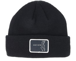 Butter Rave Black Beanie - Sweet