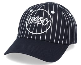 Pinstripe Hat Black Adjustable - Wesc
