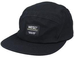 Solid Camper Hat Black 5-Panel - Wesc