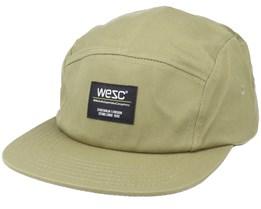Solid Camper Hat 58N Olive 5-Panel - Wesc