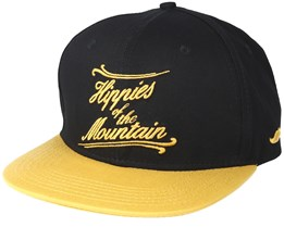 Mountain One Black/Mustard Snapback - Appertiff