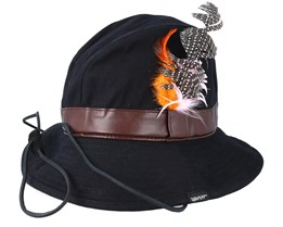 Hippie Hat Black Bucket - Appertiff