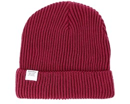 Lofoten Burgundy Beanie - Dedicated