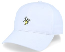Sport Cap Banana White Adjustable - Dedicated