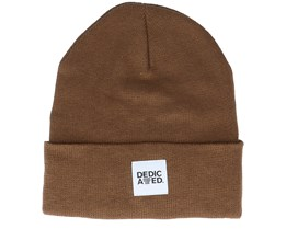 Beanie Kiruna Brown Cuff - Dedicated