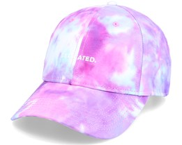 Sport Cap Tie Dye Logo Line Multi Color Adjustable - Dedicated